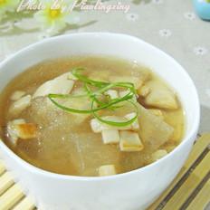 杏鲍菇冬瓜汤