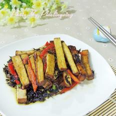 橄榄菜炒豆腐干