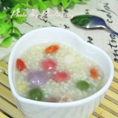 汤圆小米粥