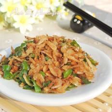 尖椒炒虾皮
