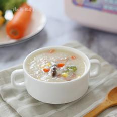 什锦火腿蔬菜粥