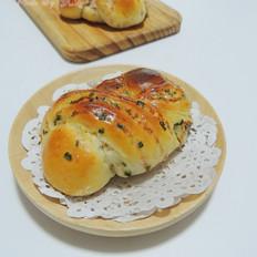 香葱火腿面包卷