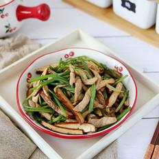 芹菜香干肉丝