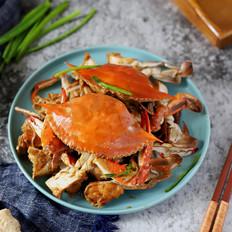 葱姜炒梭子蟹