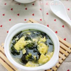 海藻鸡蛋汤