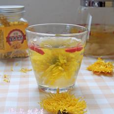 枸杞菊花水果茶