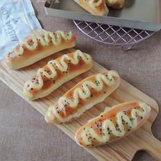 葱香沙拉面包