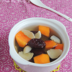 红枣百合木瓜糖水