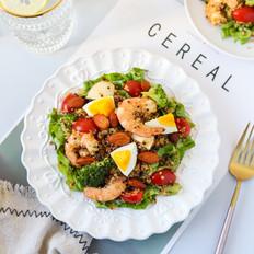 藜麦鲜虾沙拉