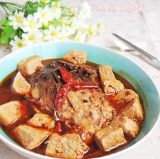 冻豆腐炖鱼
