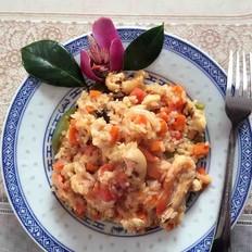 家庭版海鲜烩饭