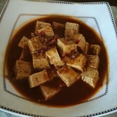 家常豆瓣冻豆腐