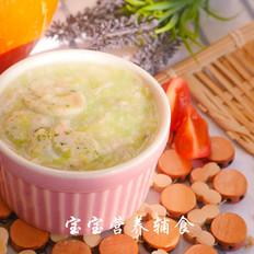 蟹味小米疙瘩汤
