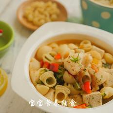 鳕鱼豆腐意式汤面