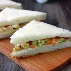 快手早餐——鸡蛋三明治