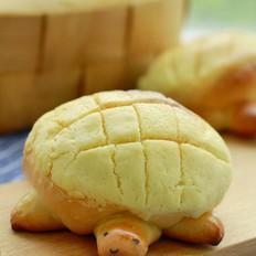 萌萌乌龟菠萝包的做法