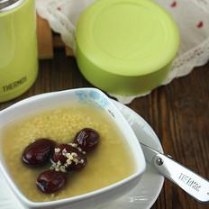 小米红枣粥