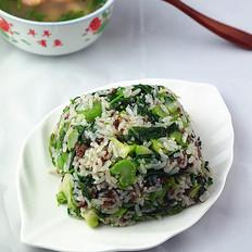 芥菜牛肉炒饭