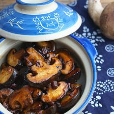豆豉香菇小炒