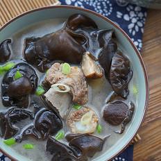 菌菇排骨汤