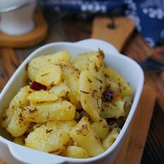 香椿煎土豆
