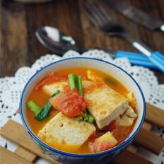 番茄鸡蛋焖豆腐