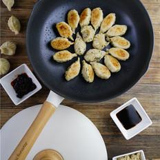 酸菜莲藕煎饺