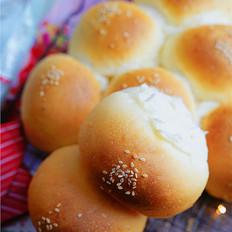 核桃蓝莓面包