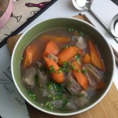 牛筋双蔬汤