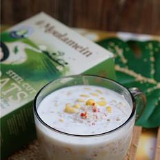 牛奶玉米燕麦粥