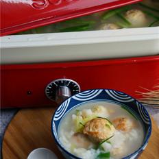 豆腐丸子疙瘩汤面