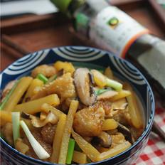 猪皮香菇焖土豆