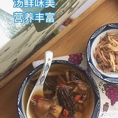 三菌油鸡汤的做法