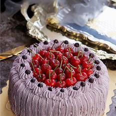 黑醋栗奶油蛋糕