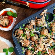 海菜鲜肉丸子