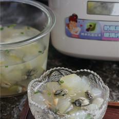 海蛎干贝冬瓜汤