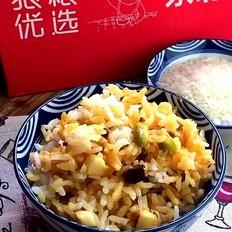 双蔬腊牛肉焖饭