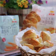 麦穗椰黄面包