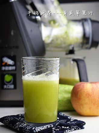 黄瓜苹果汁的做法