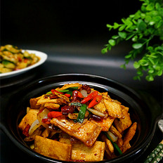 酱焖白豆腐干