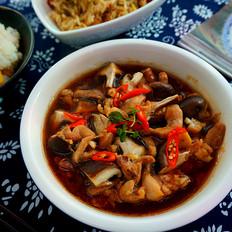 香菇蒸滑鸡----健康好味