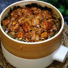 糯米蒸排骨饭