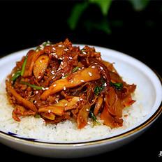 韩式杏鲍菇盖饭