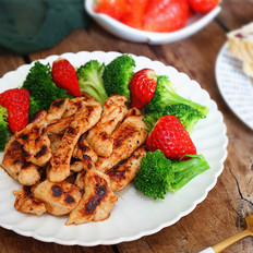 美食节蜜汁鸡胸肉------减肥必备