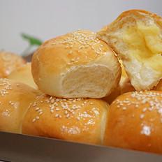 奶黄小餐包-附奶黄馅儿做法
