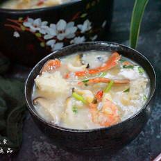 螃蟹鲍鱼粥