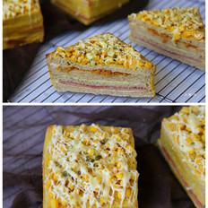 玉米培根三明治