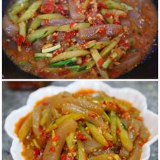 剁椒炒魔芋豆腐的做法