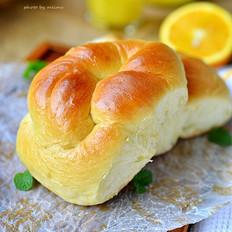 橙香老式面包
