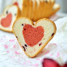 爱心蛋糕吐司